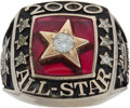 Baseball Collectibles:Others, 2000 Major League Baseball All-Star Game Ring Presented to Merv Rettenmund....