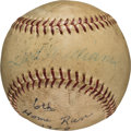 Baseball Collectibles:Balls, 1958 Ted Williams Career Home Run #462 Baseball....