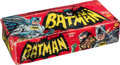 Non-Sport Cards:Unopened Packs/Display Boxes, 1966 Topps Batman Series B - Puzzle Backs Wax Box With 24 Unopened Packs Inside! ...