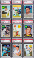 Baseball Cards:Sets, 1969 Topps Baseball High Grade Complete Set (664). ...