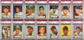 Baseball Cards:Sets, 1952 Topps Baseball Partial Set (254/407) Including 85 High #'s. ...