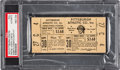 Baseball Collectibles:Tickets, 1972 Robert Clemente 3,000 Hit Full Ticket, Only Known Example. ...