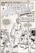 Original Comic Art:Covers, Bernard Baily Strange Adventures #181 Cover Original Art(DC, 1965)....
