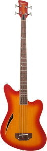 Musical Instruments:Bass Guitars, Circa 1990 Charvel 325 SLX Sunburst Acoustic Electric Bass Guitar, Serial # 1610....