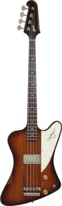 Musical Instruments:Bass Guitars, 1964 Gibson Thunderbird II Sunburst Electric Bass Guitar, Serial #517558....