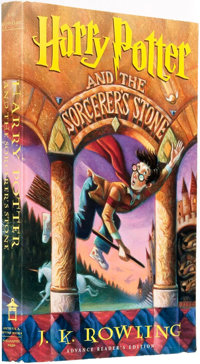 J. K. Rowling. ADVANCE READER'S EDITION. Harry Potter and the Sorcerer's Stone. [New