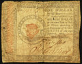 Colonial Notes:Continental Congress Issues, Continental Currency January 14, 1779 $1 Very Good.. ...
