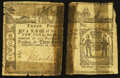 Colonial Notes:New York, New York February 16, 1771 £3 Very Good.. ...