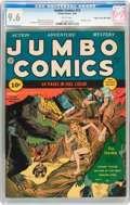 Golden Age (1938-1955):Adventure, Jumbo Comics #13 Mile High Pedigree (Fiction House, 1940) CGC NM+ 9.6 White pages....