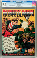 Golden Age (1938-1955):Superhero, Minute Man #3 Mile High Pedigree (Fawcett, 1942) CGC NM+ 9.6 Off-white pages....