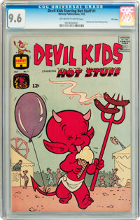 Devil Kids Starring Hot Stuff #1 File Copy (Harvey, 1962) CGC NM+ 9.6 Off-white to white pages