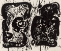 Prints:Contemporary, Sam Francis (1923-1994). Dark Egg, 1963. Lithograph on RivesBFK paper. 16-3/4 x 20-1/8 inches (42.7 x 51.1 cm) (sheet)...
