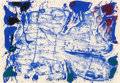 Prints:Contemporary, Sam Francis (1923-1994). Coldest Stone (SF-15), 1960.Lithograph in colors on Rives BFK paper. 24-7/8 x 35-5/8 inches(6...