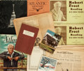 Books:Fiction, [Robert Frost]. Collection of Eleven Items. Various publishers anddates....