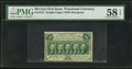 Fractional Currency:First Issue, Fr. 1312 50¢ First Issue PMG Choice About Unc 58 EPQ.. ...