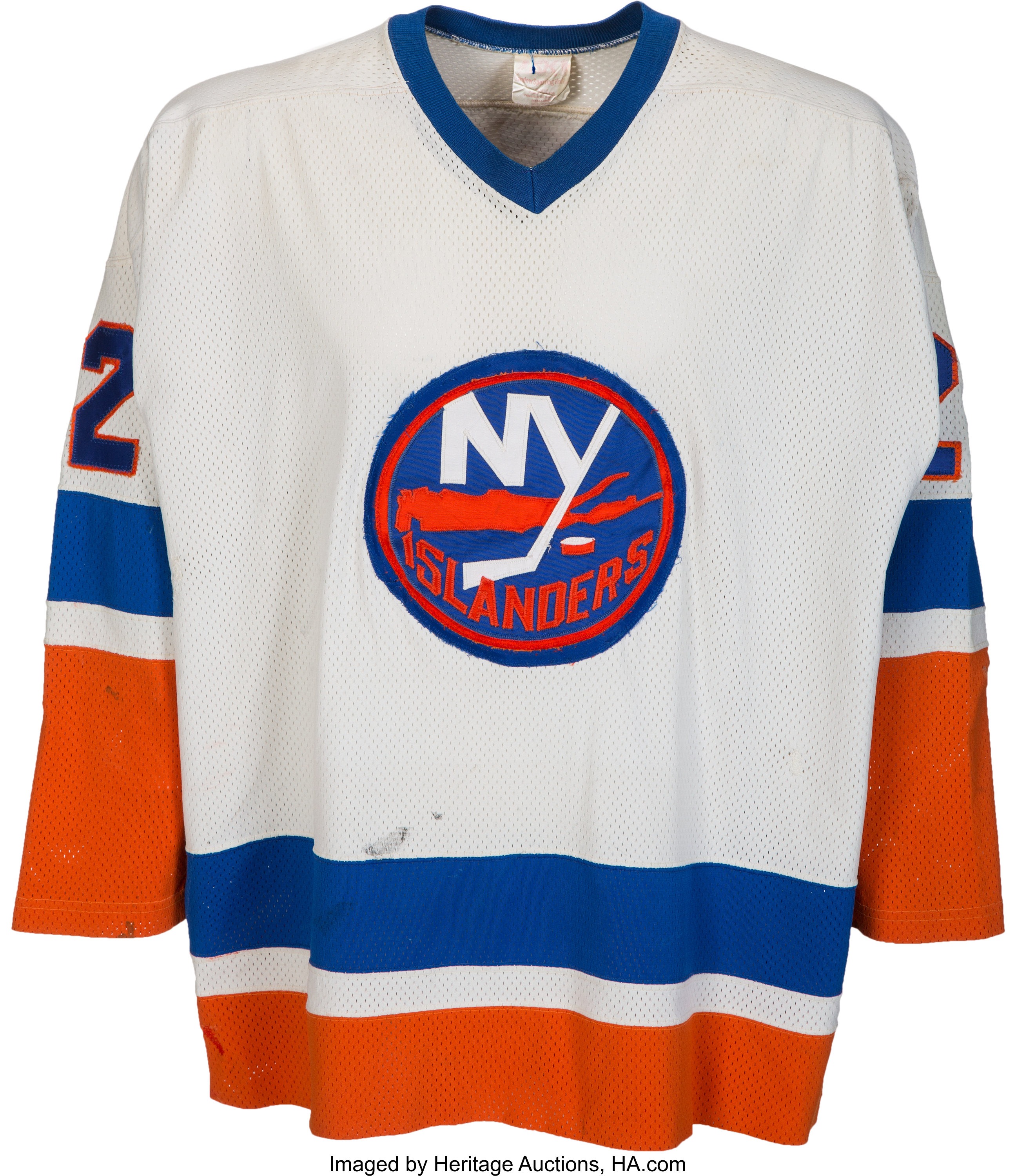 finest selection 36473 d7bff 1980's Mike Bossy Game Worn New York Islanders Jersey ...