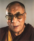 Prints:Contemporary, Chuck Close (b. 1940). Dalai Lama, 2005. Digital pigmentprint. 39-3/4 x 33 inches (101 x 83.8 cm) (image). 48-3/4 x 41-...