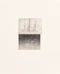 Prints, Vija Celmins (b. 1939). Alliance, 1983. Aquatint with mezzotint and drypoint on Fabriano paper. 10 x 7-3/8 inches (25.4 ...