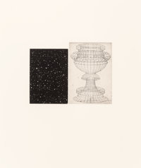 Vija Celmins (b. 1939) Constellation - Uccello, 1983 Aquatint in colors and etching on Fabriano Rosa