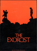 "Movie Posters:Horror, The Exorcist (Warner Brothers, 1974). Promotional Poster (22.25"" X 31""). Horror.. ..."