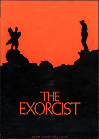 "The Exorcist (Warner Brothers, 1974). Promotional Poster (22.25"" X 31""). Horror"