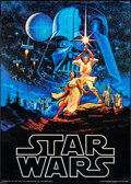 "Movie Posters:Science Fiction, Star Wars & Other Lot (Factors, 1977). Commercial Poster (20"" X 28"") & Calendar Poster (18.25"" X 27""). Science Fiction.. ... (Total: 2 Items)"