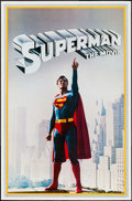 "Movie Posters:Action, Superman the Movie (DC Comics, 1978). Commercial Posters (2)Identical (23"" X 35""). Action.. ... (Total: 2 Items)"