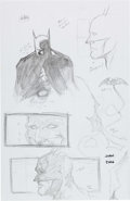 "Original Comic Art:Miscellaneous, ""Juan"" - Batman Preliminary Original Art Group of 4 (2006)....(Total: 4 Original Art)"