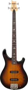Musical Instruments:Bass Guitars, 2001 Paul Reed Smith (PRS) EB Sunburst Electric Bass Guitar, Serial# 1EB000095....