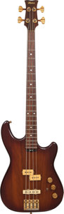 Musical Instruments:Bass Guitars, 1980 Maton Sunburst Electric Bass Guitar, Serial # 607....