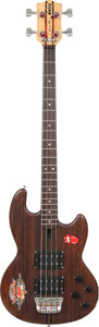 Musical Instruments:Bass Guitars, Circa 1980 Wal Pro Bass Natural Electric Bass Guitar, Serial # PB 1592....