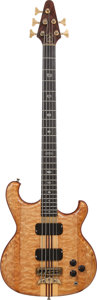 Musical Instruments:Bass Guitars, 1988 Alembic Persuader Natural Electric Bass Guitar, Serial # 88 P4935....