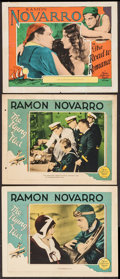 "Movie Posters:Action, The Road to Romance & Other Lot (MGM, 1927). Lobby Cards (3)(11"" X 14""). Action.. ... (Total: 3 Items)"