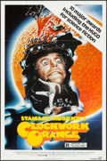 "Movie Posters:Science Fiction, A Clockwork Orange (Warner Brothers, R-1982). One Sheet (27"" X 41""). Science Fiction.. ..."