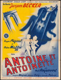 """Movie Posters:Foreign, Antoine et Antoinette (Gaumont, 1947). French Affiche (23.5"""" X 31.25""""). Foreign.. ..."""