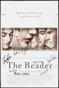"""Movie Posters:Drama, The Reader (Weinstein, 2008). Autographed Mini Poster (13.25"""" X 19.75""""). Drama.. ..."""