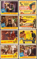 Movie Posters:Western, The Arizona Raiders & Others Lot (Favorite Films, R-1951). Lobby Cards (20), Stock Lobby Cards (8) & Title Lobby Cards (3) (... (Total: 31 Items)