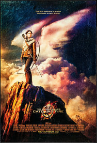 """The Hunger Games: Catching Fire (Lions Gate, 2013). One Sheets (2) (27"""" X 40"""") DS Advance 2 Styles. Action..."""