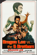 """Movie Posters:Action, Dragon Lee vs. the Five Brothers & Others Lot (Fury Films,1978). One Sheets (45) (21.75-27"""" X 31-41""""). Action.. ... (Total:45 Items)"""