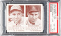 Baseball Cards:Singles (1940-1949), 1941 Double Play Babich/Siebert #127/128 PSA NM-MT+ 8.5 - Only OneHigher. ...