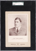 Baseball Cards:Singles (Pre-1930), 1902-11 W600 Sporting Life Honus Wagner - Street Clothes SGC 60 EX 5! ...