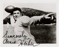 Football Collectibles:Others, 1930's Arnie Herber Signed Photograph....