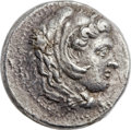 Ancients:Greek, Ancients: MACEDONIAN KINGDOM. Alexander III the Great (336-323 BC). AR decadrachm (35mm, 41.22 gm, 1h)....