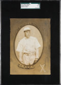 "Baseball Cards:Singles (Pre-1930), 1911 T4 Obak Cabinet ""Black Sox"" Buck Weaver SGC 10 Poor 1 - ANewly Discovered Uncatalogued Pose! ..."
