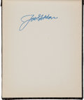 Baseball Collectibles:Others, Circa 1950 Baseball Stars Signed Autograph Album....