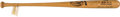 Baseball Collectibles:Bats, 1985 Mickey Mantle Signed 536 Lifetime Home Runs Bat. ...
