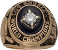 Baseball Collectibles:Others, 1965 Los Angeles Dodgers World Series Championship Ring Presentedto Pitcher Claude Osteen....
