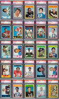 Football Cards:Sets, 1972 Topps Football Complete Set (351) - #2 Current Finest (#3 All-Time Finest) on the PSA Set Registry....