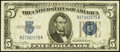 Error Notes:Miscellaneous Errors, Fr. 1654 $5 1934D Wide I Silver Certificate. Very Fine-Extremely Fine.. ...