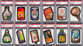 Non-Sport Cards:Sets, 1973 - 1977 Topps Wacky Packages PSA Graded Collection (200+). ...